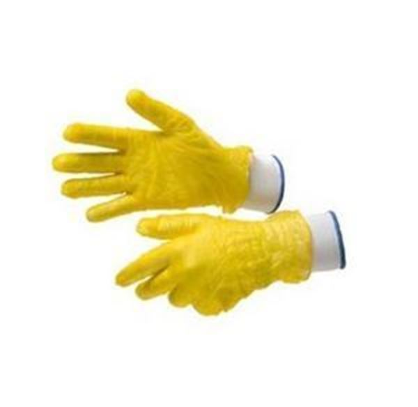 Picture of x200 VINYL GLOVE YELLOW - LARGE