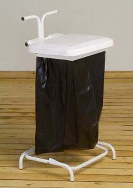 Picture of STIK FREE STANDING  SACK HOLDER - WHITE