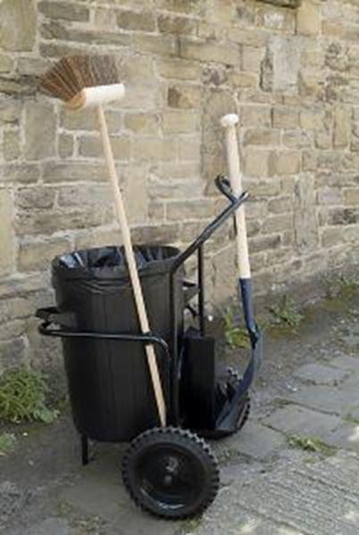 Picture of TOBY TROLLEY c/w brush, shovel & bin