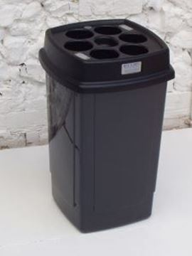 Picture of BECA DRINKS BIN - CHARCOALcapacity - up to 500 cups