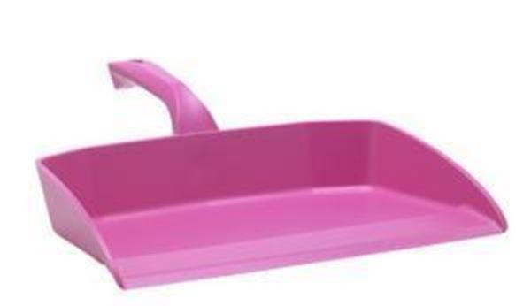295mm Vikan H/Duty Dustpan only - Pink