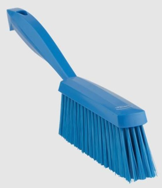 """Picture of 13"""" / 330mm VIKAN BAKERS HAND BRUSH SOFT - BLUE"""