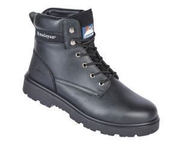 Picture of Himalayan Leather Ankle Safety Boot S3 - Black