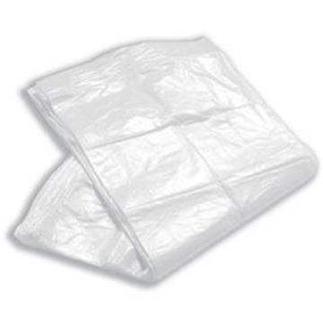 """Picture of WHITE PEDAL BIN LINER L/DUTY 11x18x18"""" 275x425x425mm"""